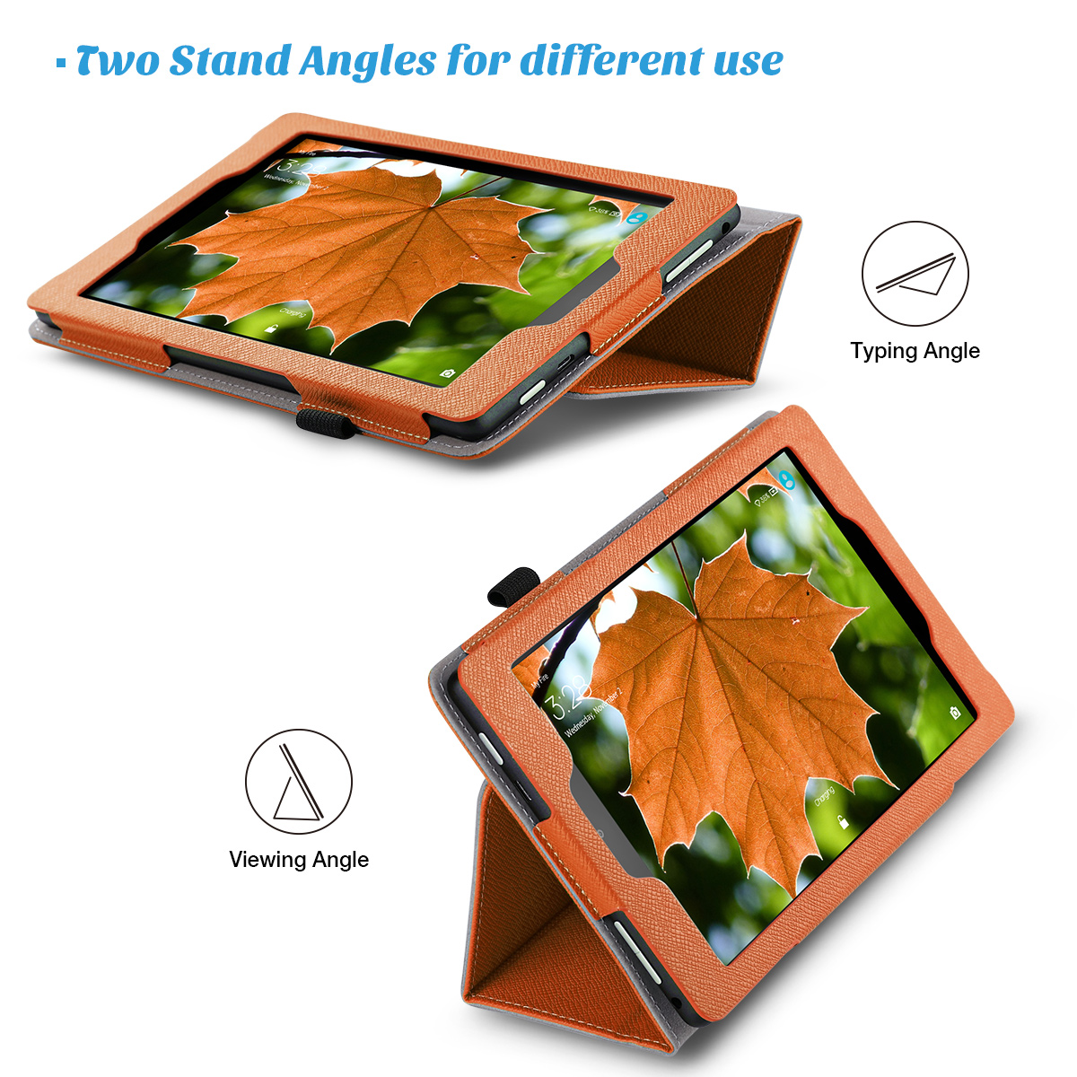 Flip-Wallet-Leather-Case-Cover-For-All-New-Amazon-Fire-HD-8-2016-Release-6th-Gen thumbnail 45
