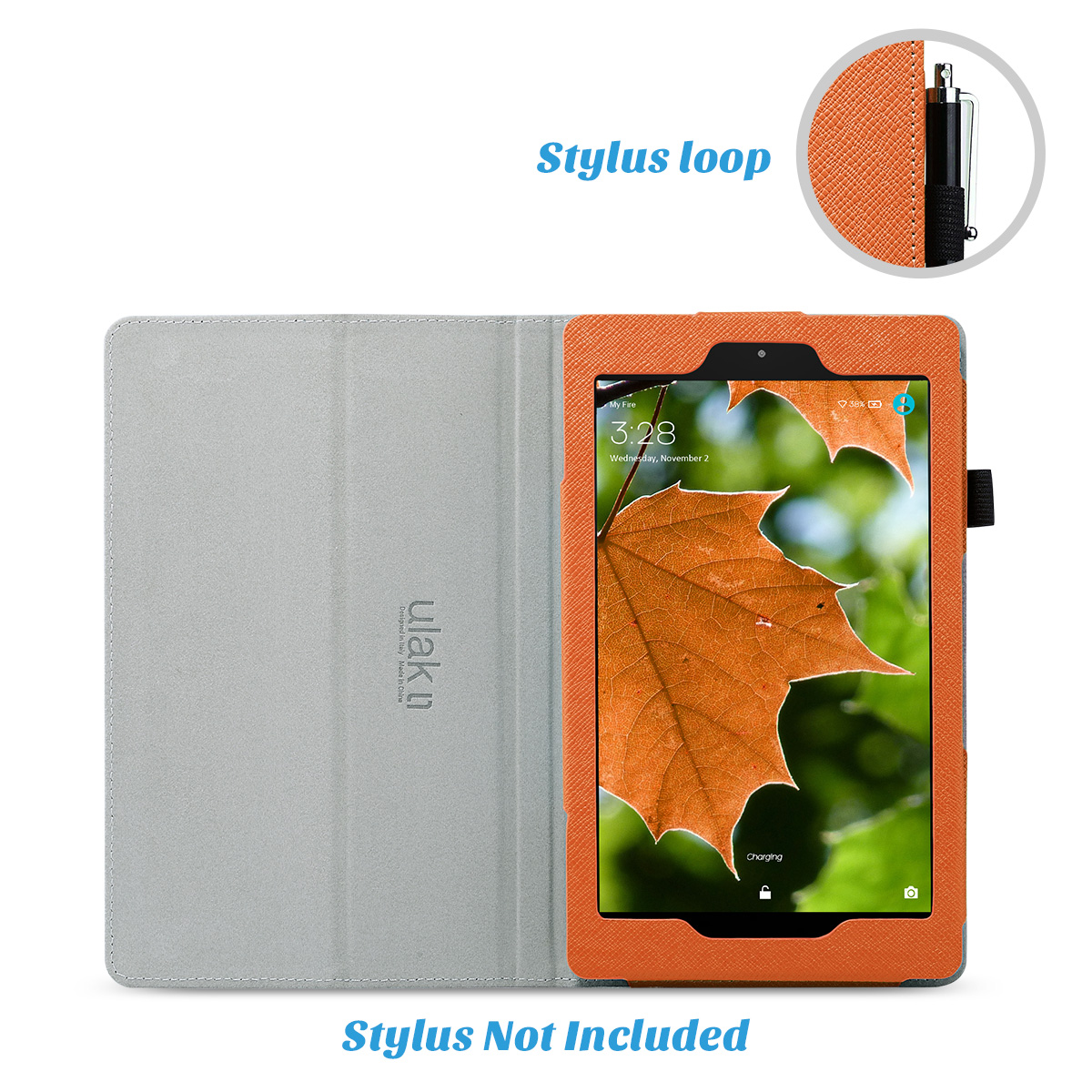 Flip-Wallet-Leather-Case-Cover-For-All-New-Amazon-Fire-HD-8-2016-Release-6th-Gen thumbnail 49