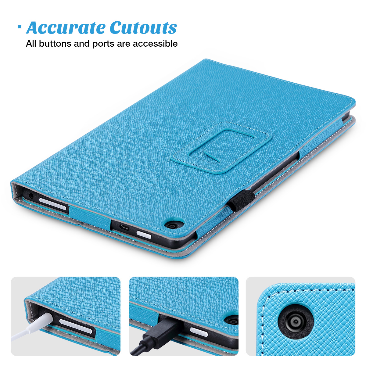 Flip-Wallet-Leather-Case-Cover-For-All-New-Amazon-Fire-HD-8-2016-Release-6th-Gen thumbnail 12