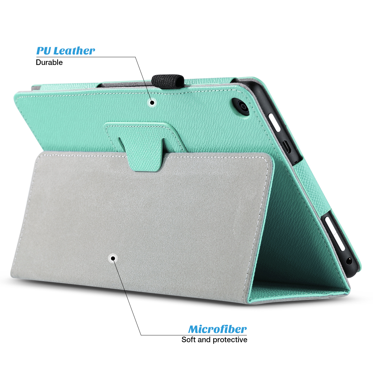 Flip-Wallet-Leather-Case-Cover-For-All-New-Amazon-Fire-HD-8-2016-Release-6th-Gen thumbnail 35