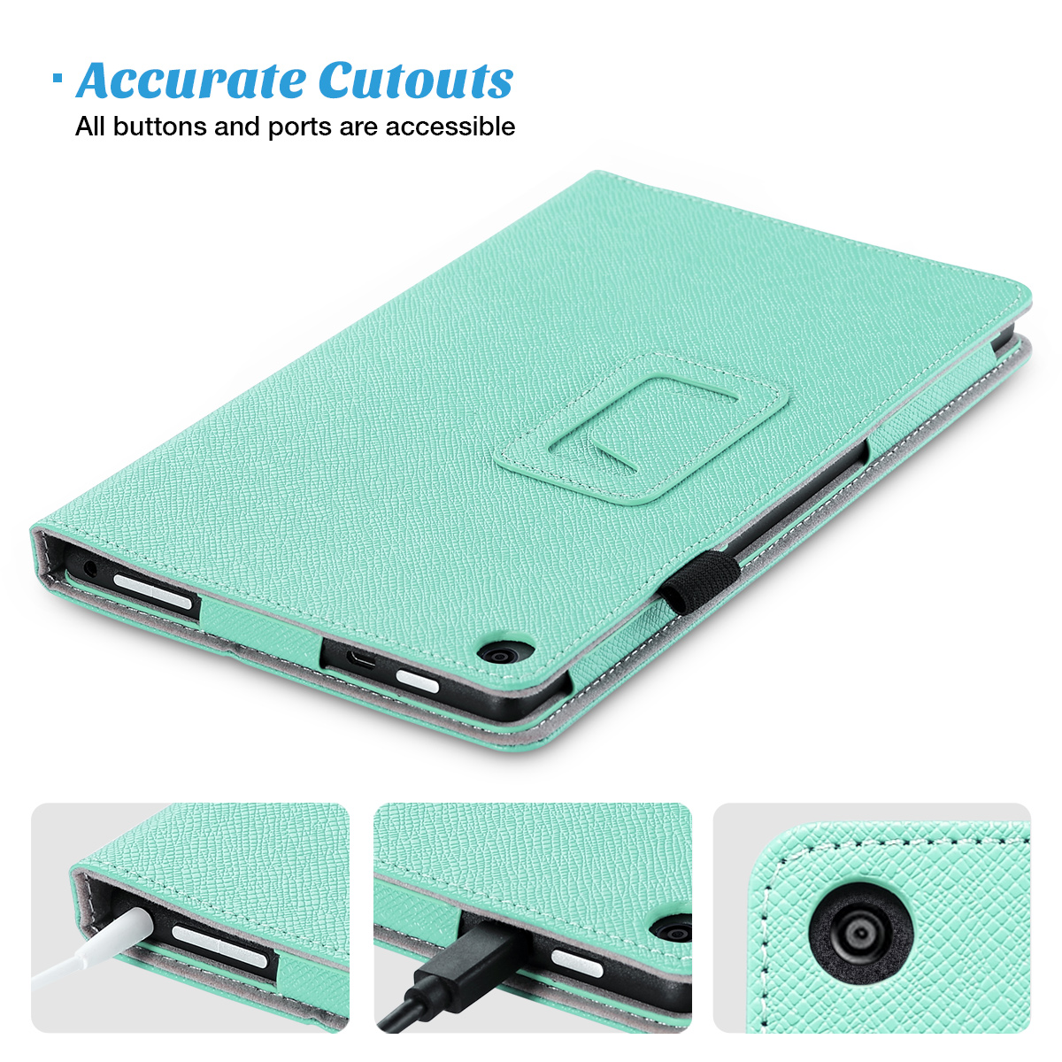 Flip-Wallet-Leather-Case-Cover-For-All-New-Amazon-Fire-HD-8-2016-Release-6th-Gen thumbnail 36