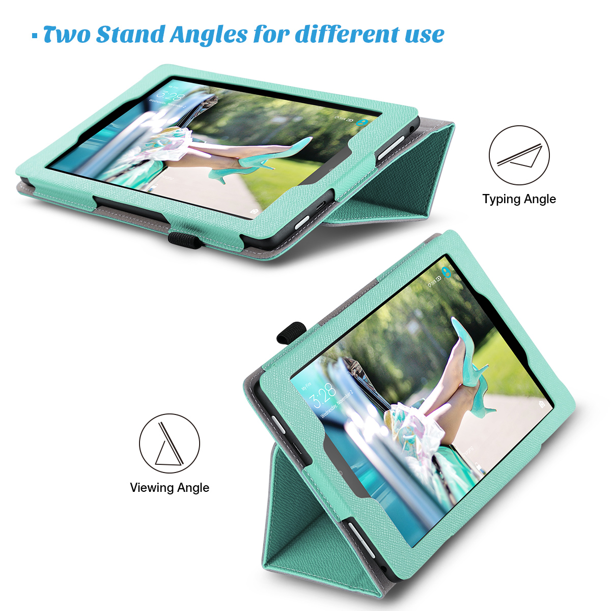 Flip-Wallet-Leather-Case-Cover-For-All-New-Amazon-Fire-HD-8-2016-Release-6th-Gen thumbnail 37