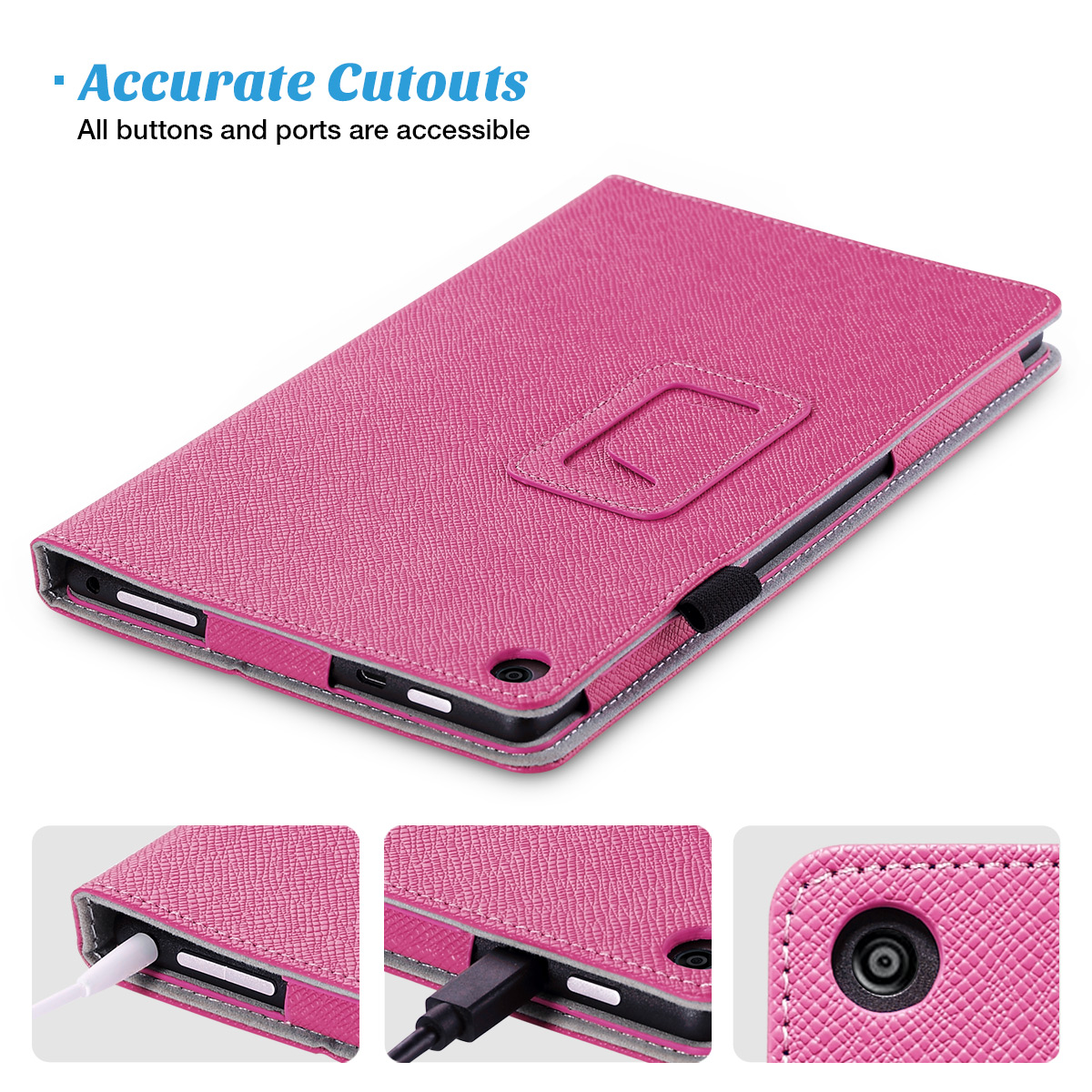 Flip-Wallet-Leather-Case-Cover-For-All-New-Amazon-Fire-HD-8-2016-Release-6th-Gen thumbnail 52