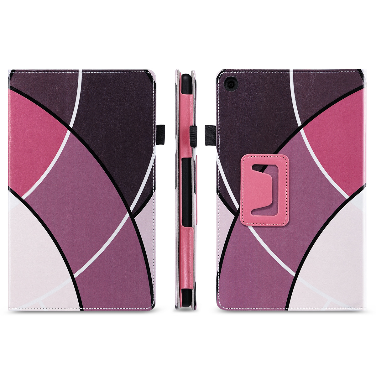 Flip-Wallet-Leather-Case-Cover-For-All-New-Amazon-Fire-HD-8-2016-Release-6th-Gen thumbnail 23
