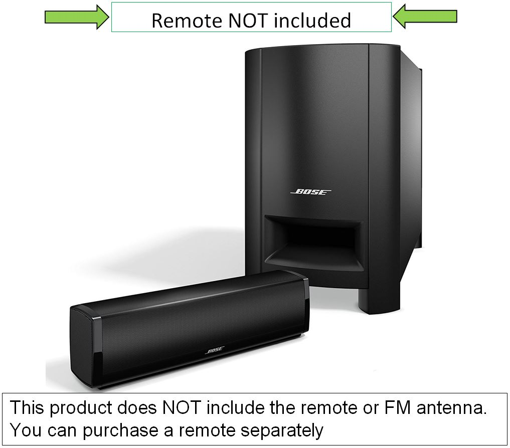 Bose CineMate 15 2.1Ch 12\
