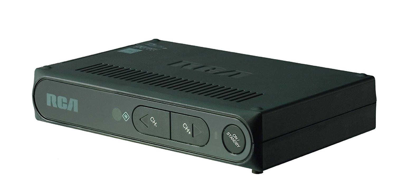 RCA Digital To Analog Pass-through TV Converter Box, Black ...