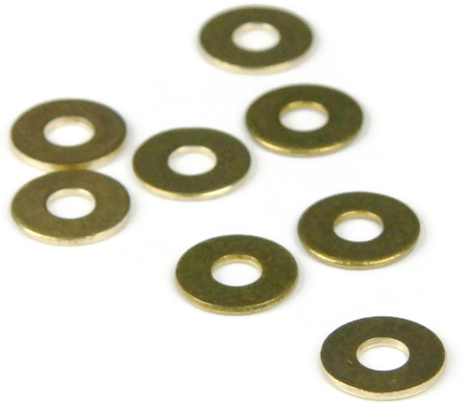 Brass Flat Washer #2 Qty 250