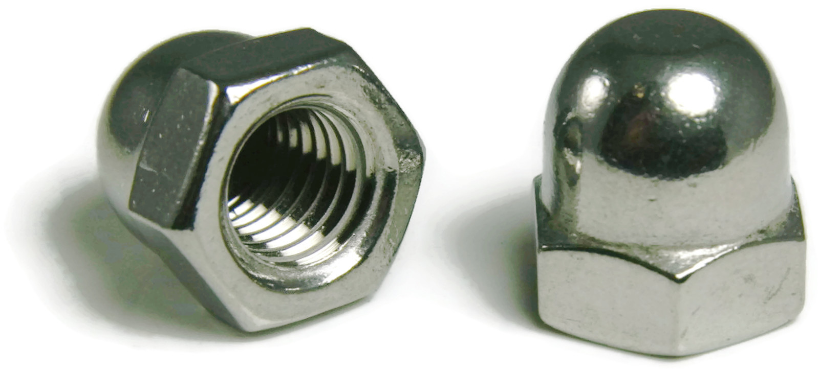 10-32 Stainless Steel Cap Acorn Hex Nuts UNF Grade 18-8 Qty 1000 304