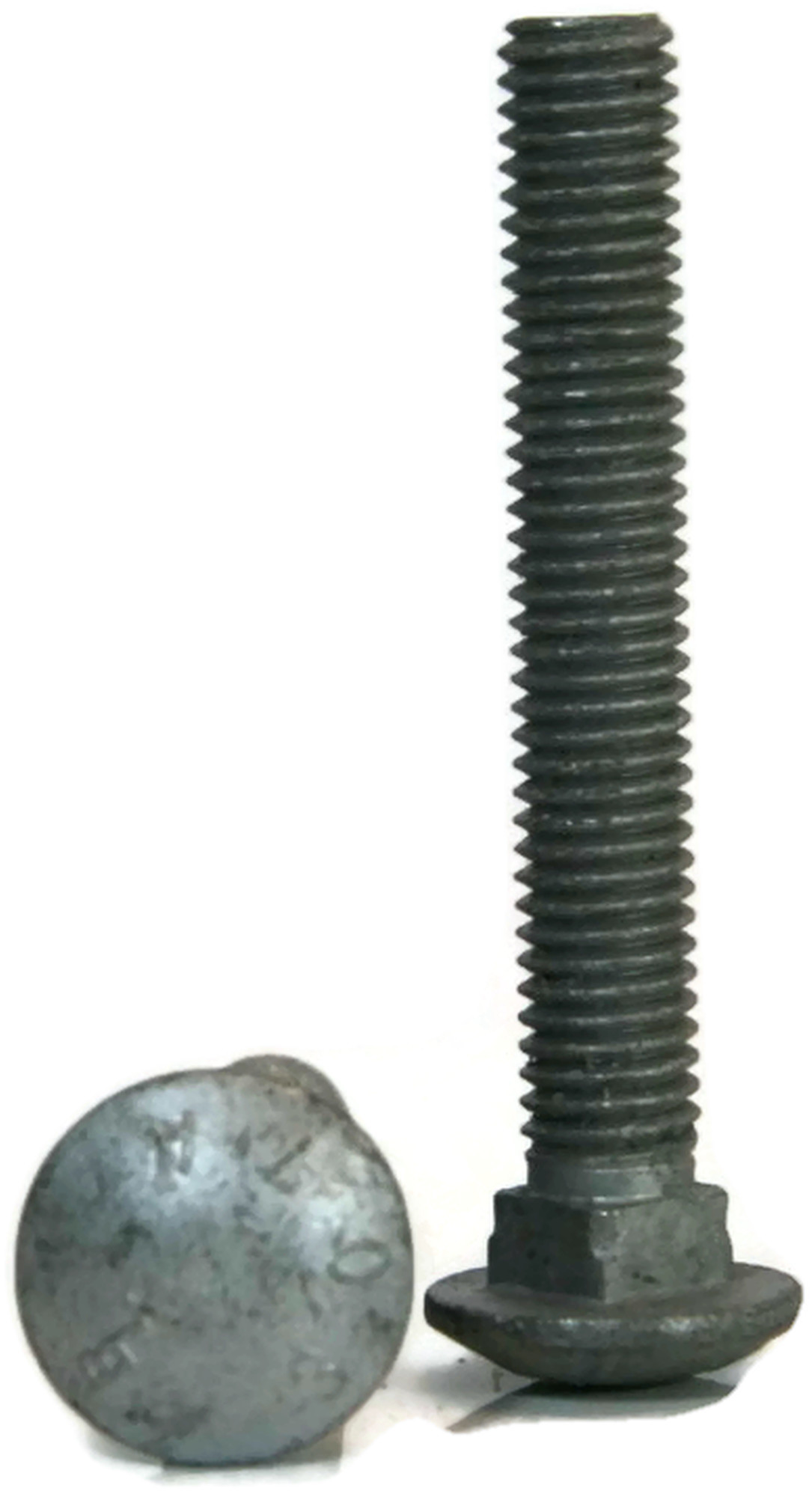 Qty-100 Carriage Bolt Zinc Plated 307A Grade A Steel 5//16-18 x 9 PT