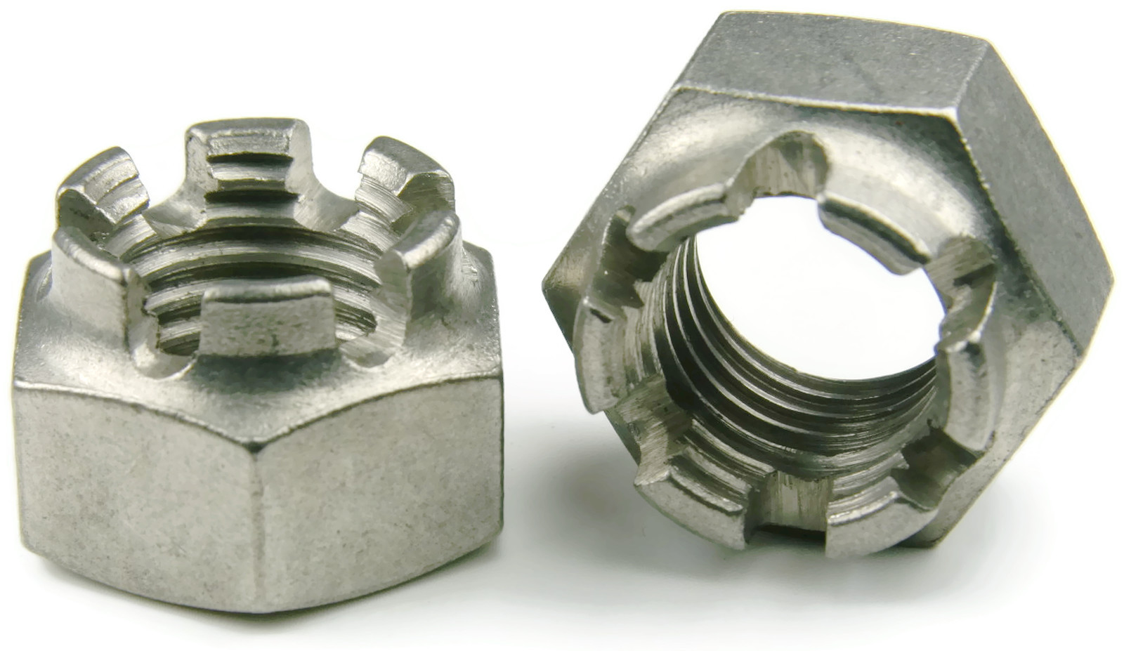 Stainless Steel Cotter Pin Castle Nut 5 8 18 Unf Qty 1 Ebay