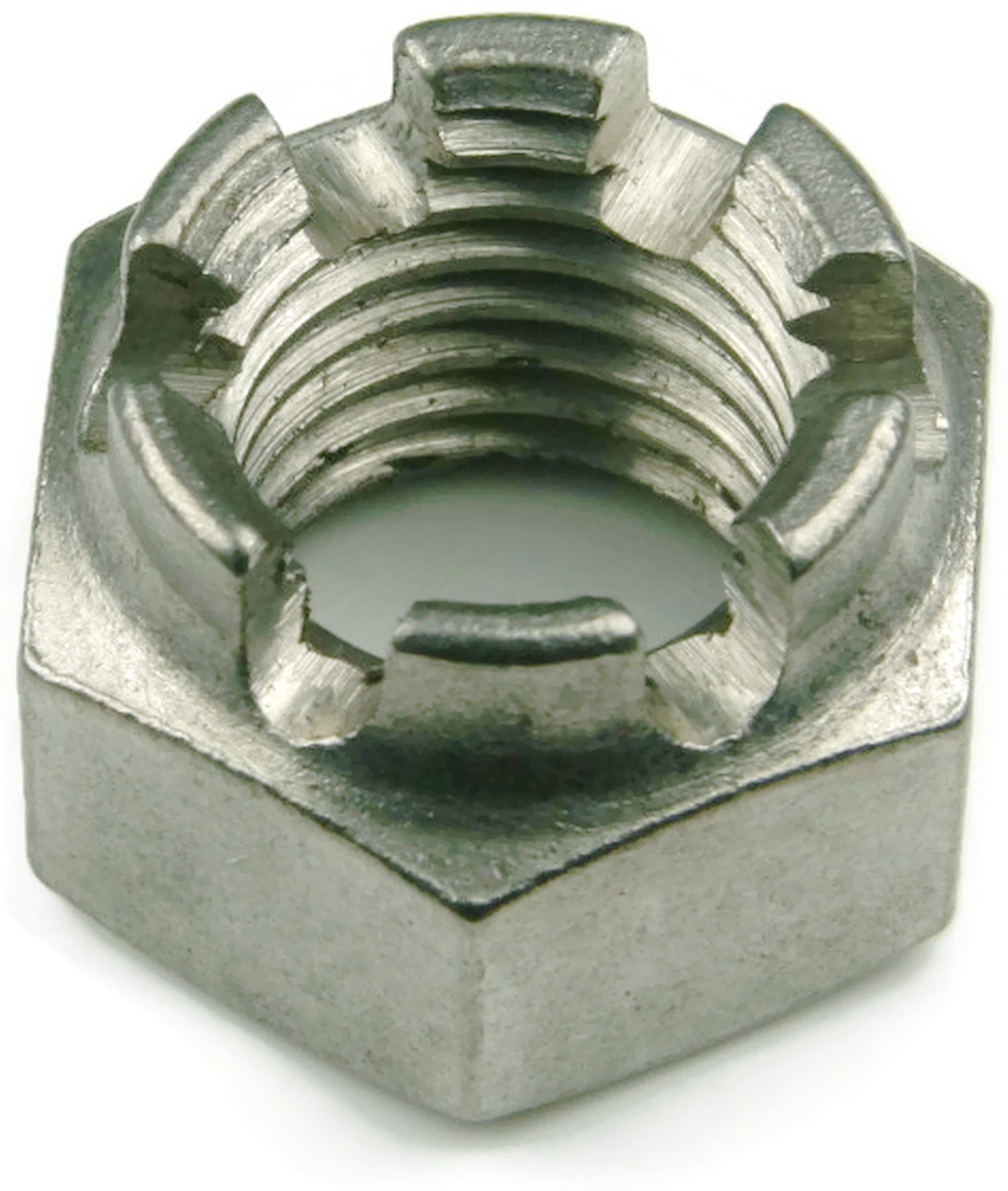 Stainless Steel Cotter Pin Castle Nut 3//8-24 UNF Qty 1