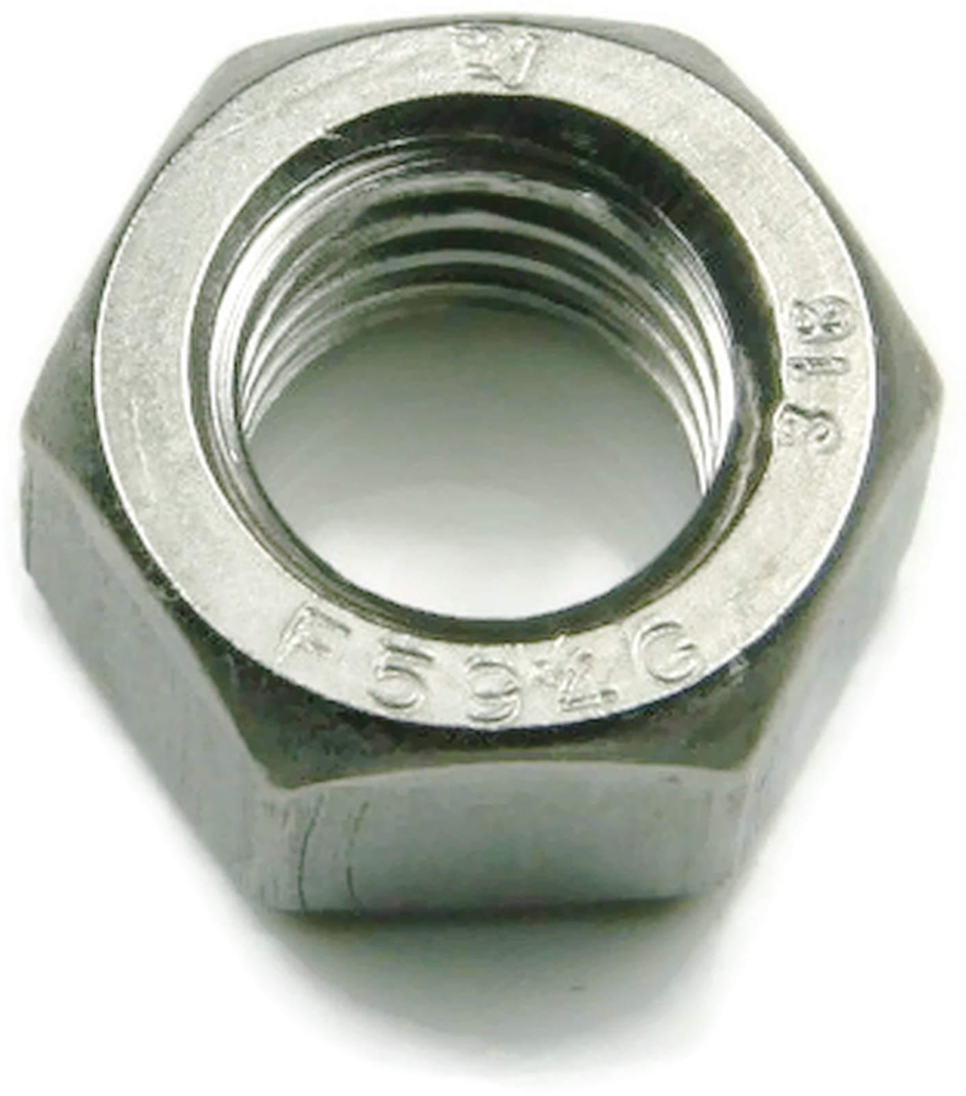 Height:7//32 Stainless Steel Finished Hex Nut UNC 1//4-20 Qty 100