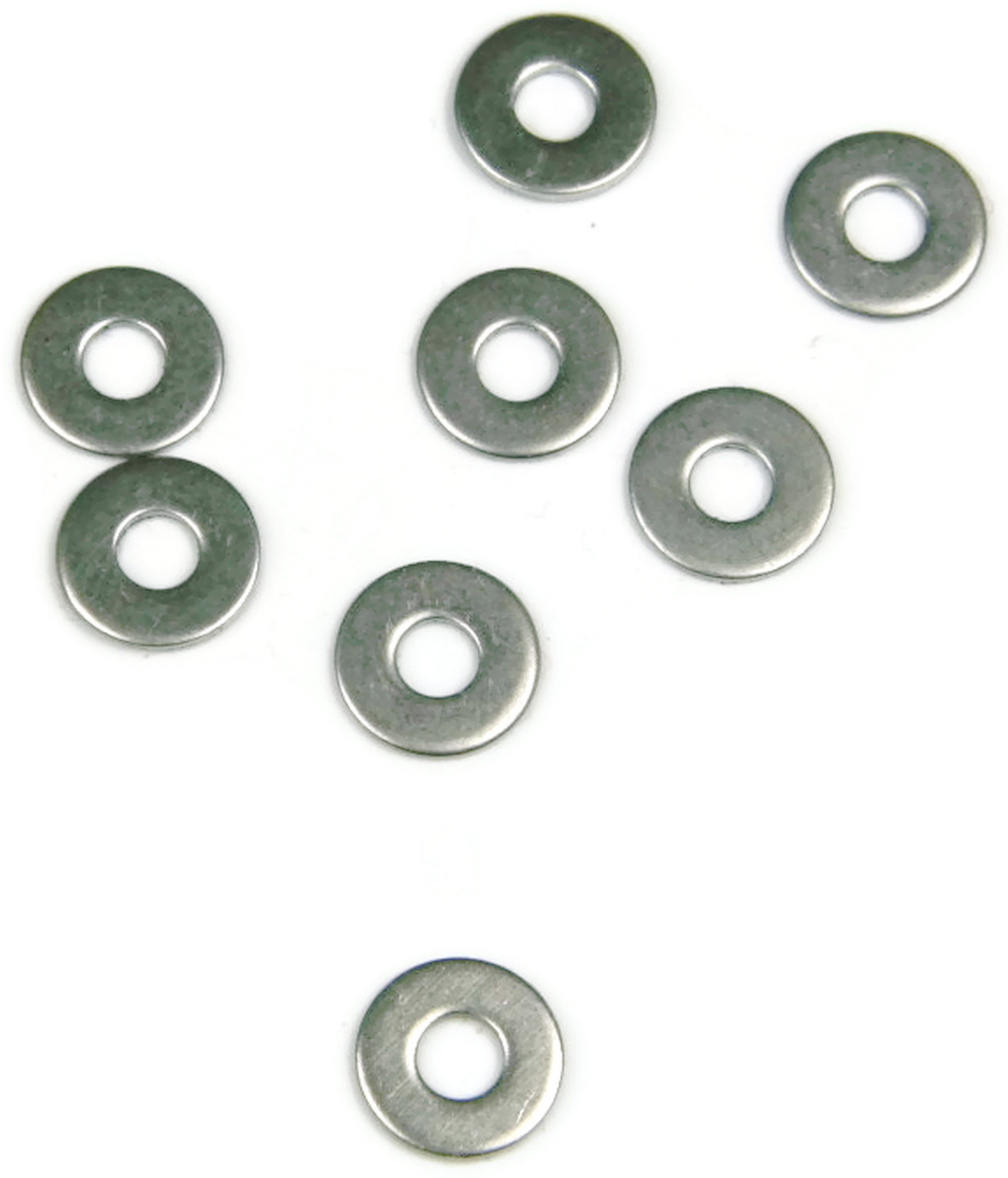 Stainless Steel NAS Flat Washer #6 Qty 100