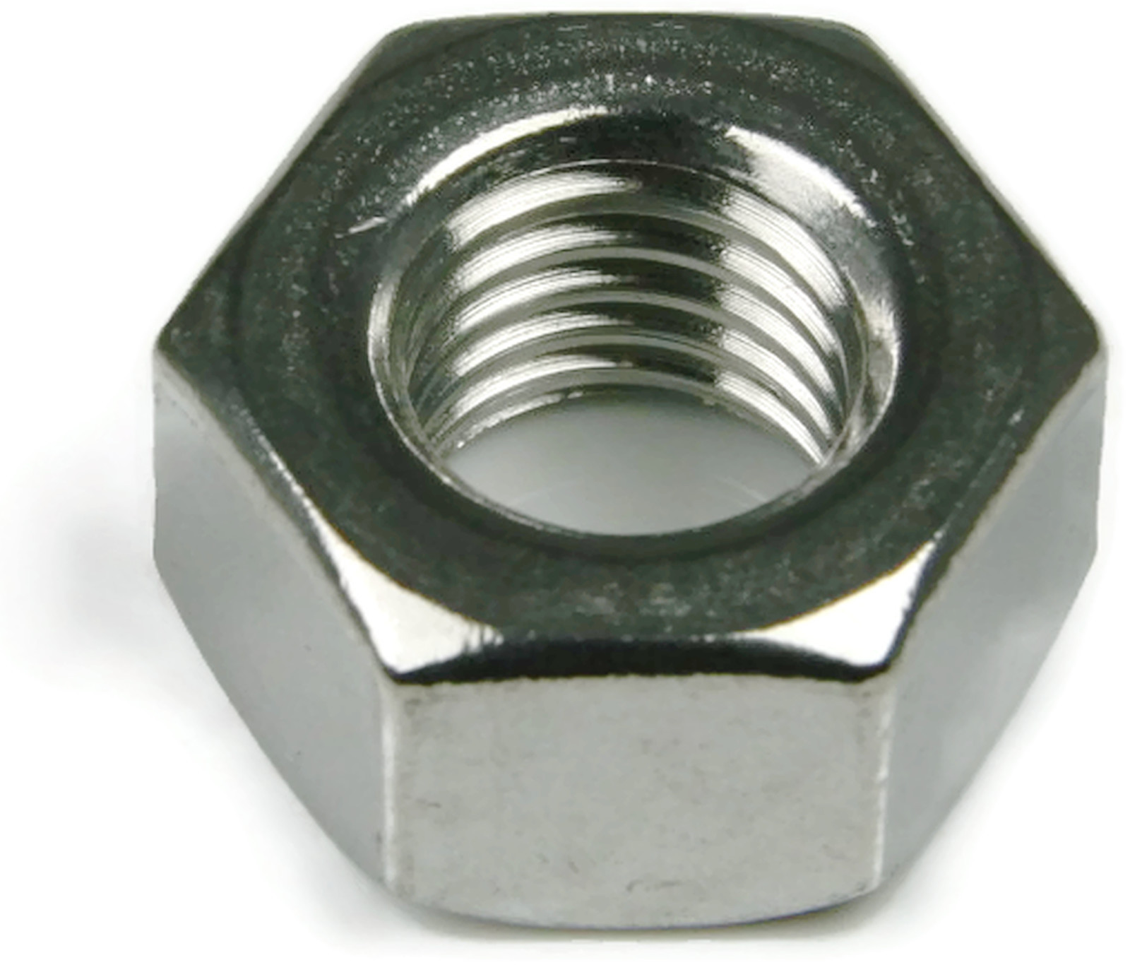 Qty-100 3//8-16 9//16 Flats x 21//64 Thick Hex Finish Nuts 18-8 Stainless Steel