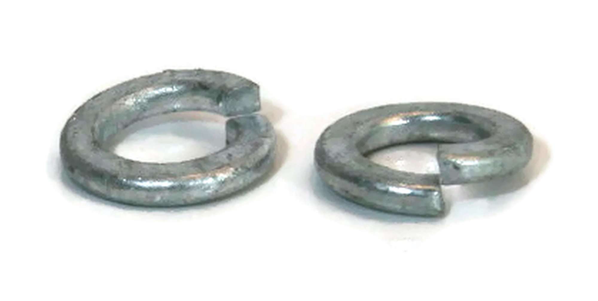1//4 OD 0.487 ID 0.260 Split Ring Lock Washer Hot Dip Galvanized Qty-250