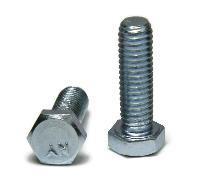 "3//8/""-16 x 6-1//2/"" PT Qty-25 Hex Cap Screws Grade 5 Zinc"