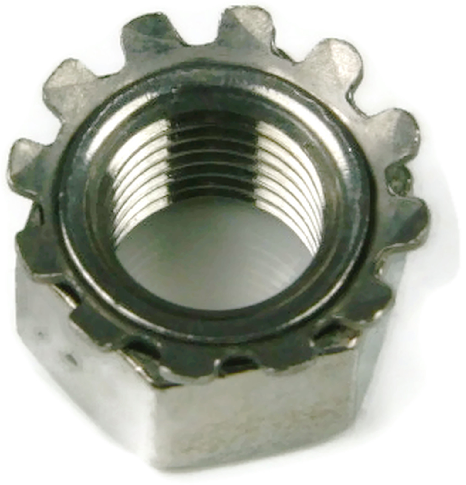 Stainless Steel Keps K Lock Nut UNC #4-40 Qty 100