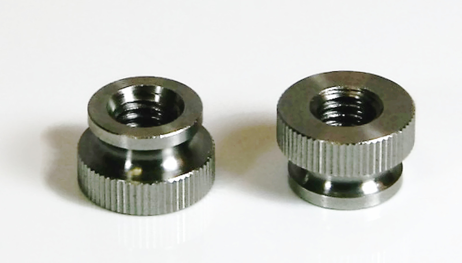 Knurled Thumb Nut 18 8 Stainless Steel Nuts Size 2 56