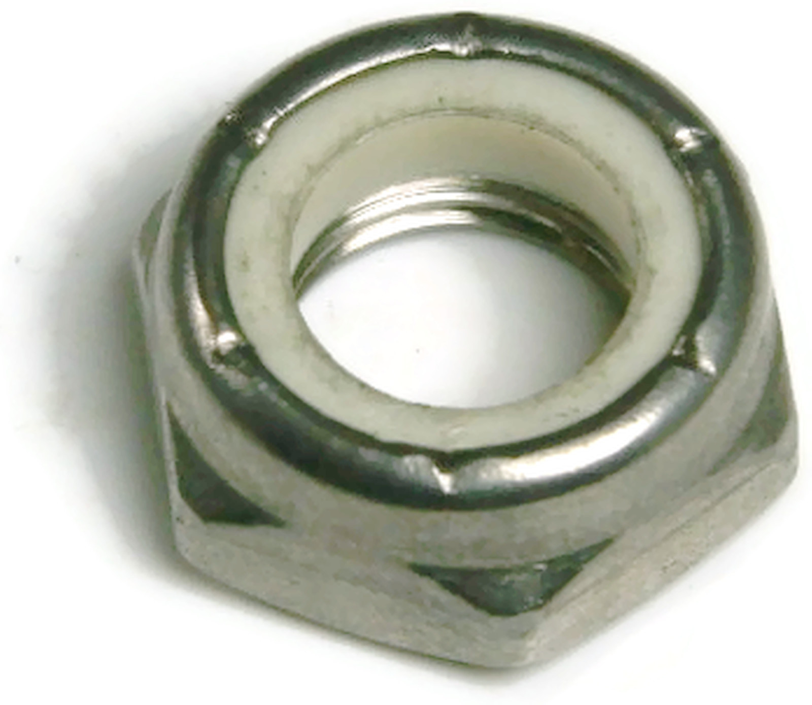 Stainless Steel Thin Jam Nylon Insert Lock Nuts 10-32 pack of 50 Marine Bolt Supply