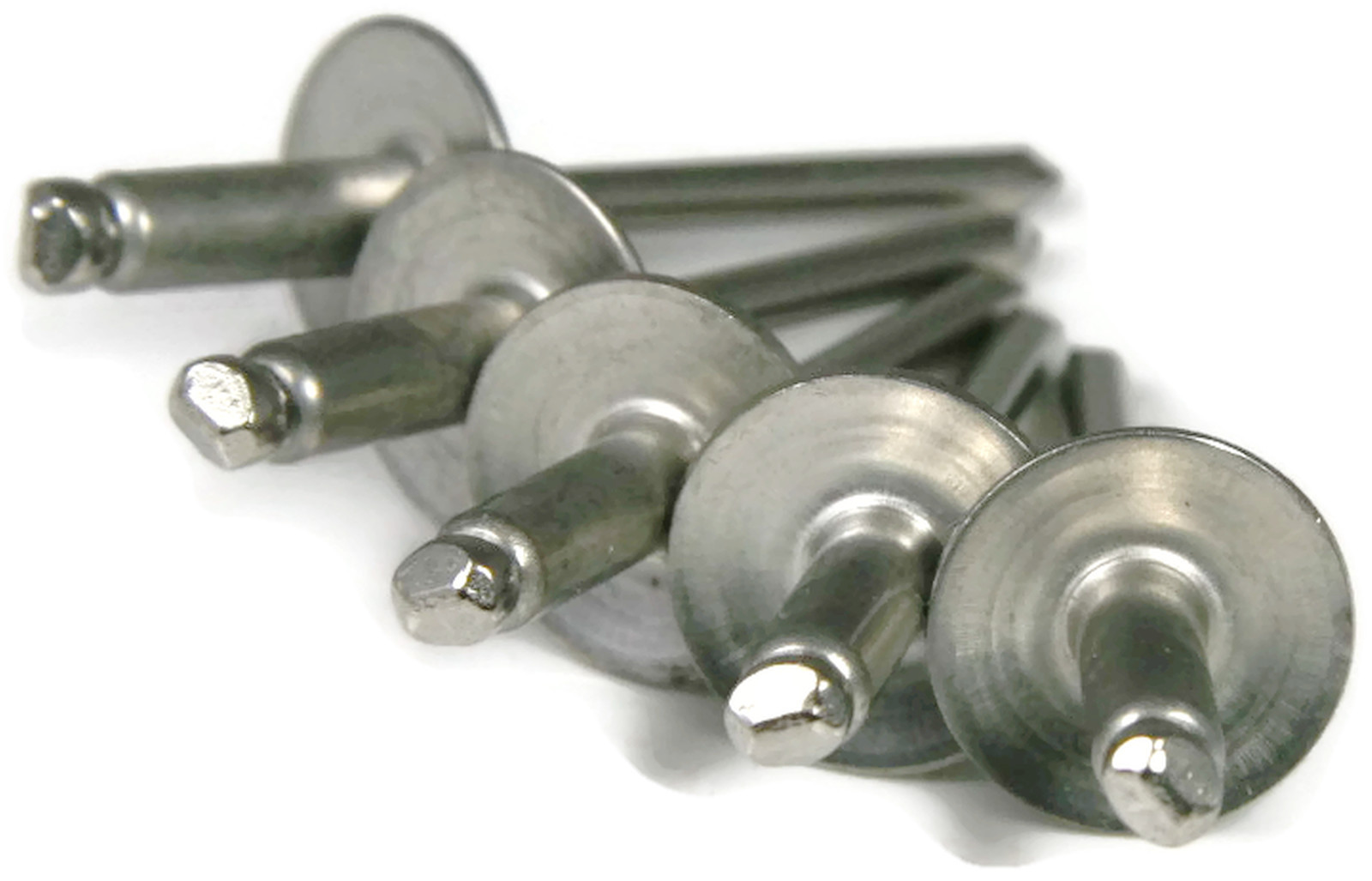 "QTY 500 POP Rivets ALL Stainless Steel 4-3 1//8/"" x 3//16/"" Grip Range"