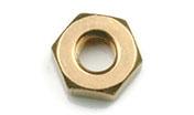 silicon bronze hex nut