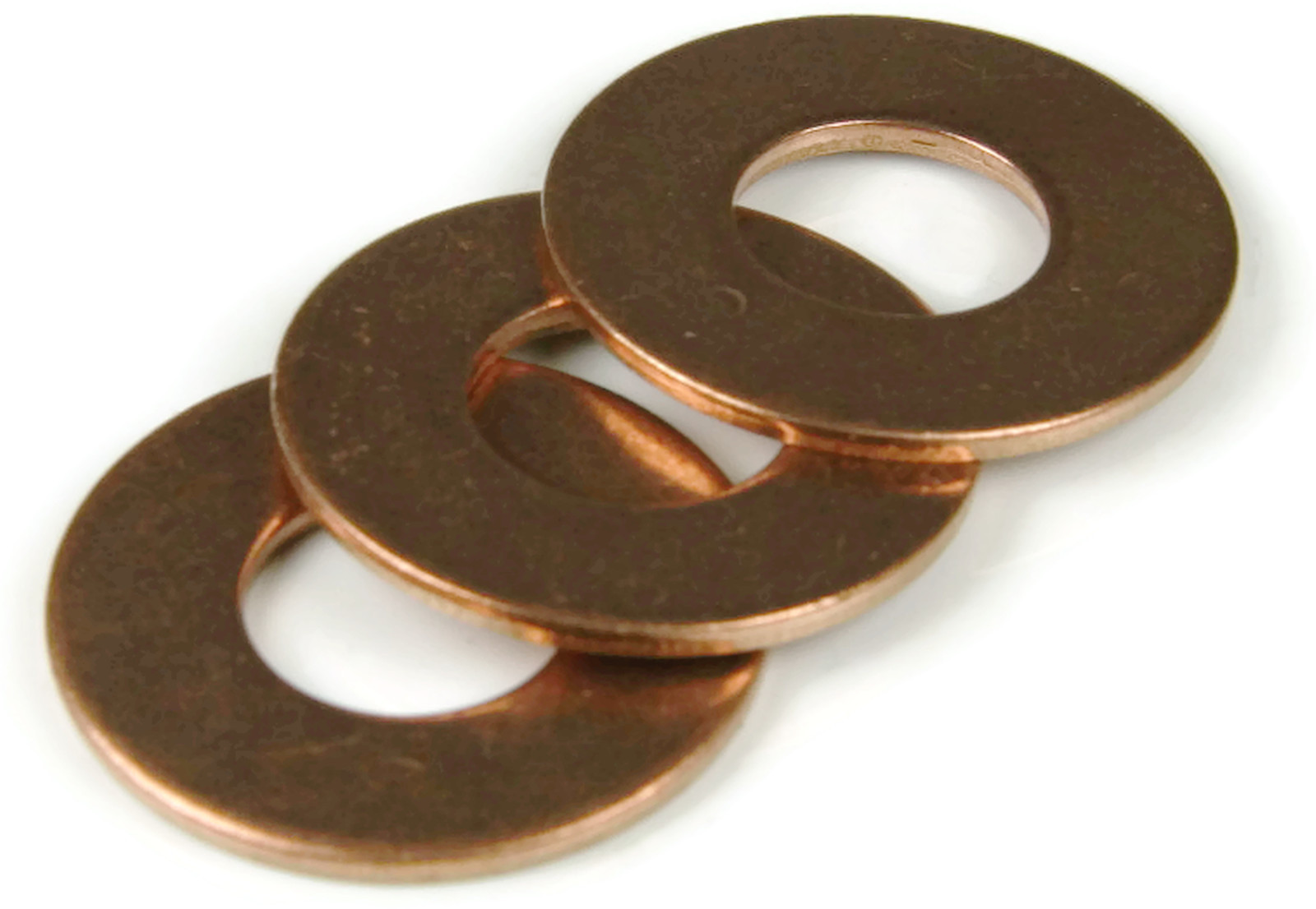 Qty 25 Brass Flat Washer 16 Large