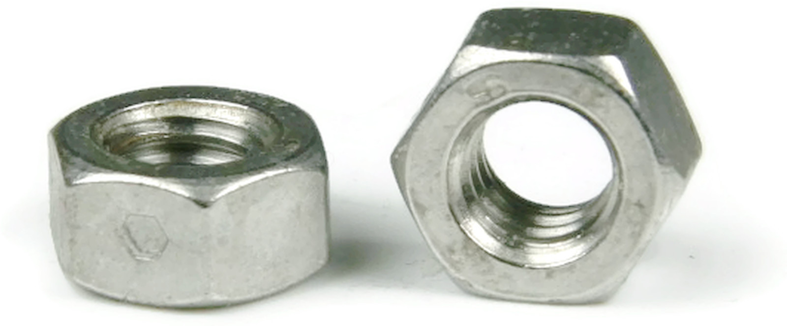 Qty 25 Two Way Hex Lock Nut Stainless Steel UNC 3//8-16