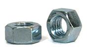 Zinc hex nuts