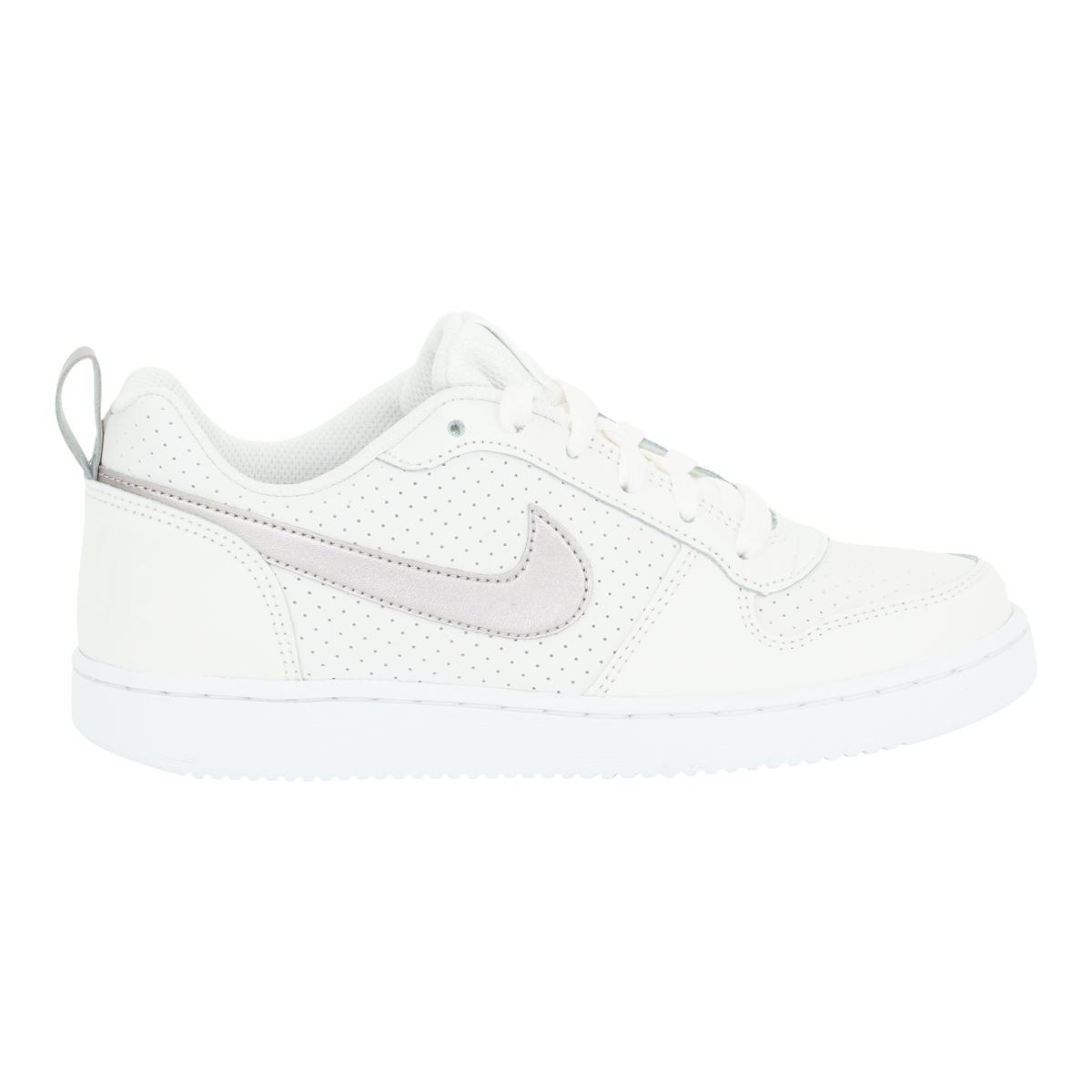 mantener Aja Trágico  Nike Kids's Court Borough bajo GG Zapatos Phantom/Rojo Metálico 5.5 | eBay