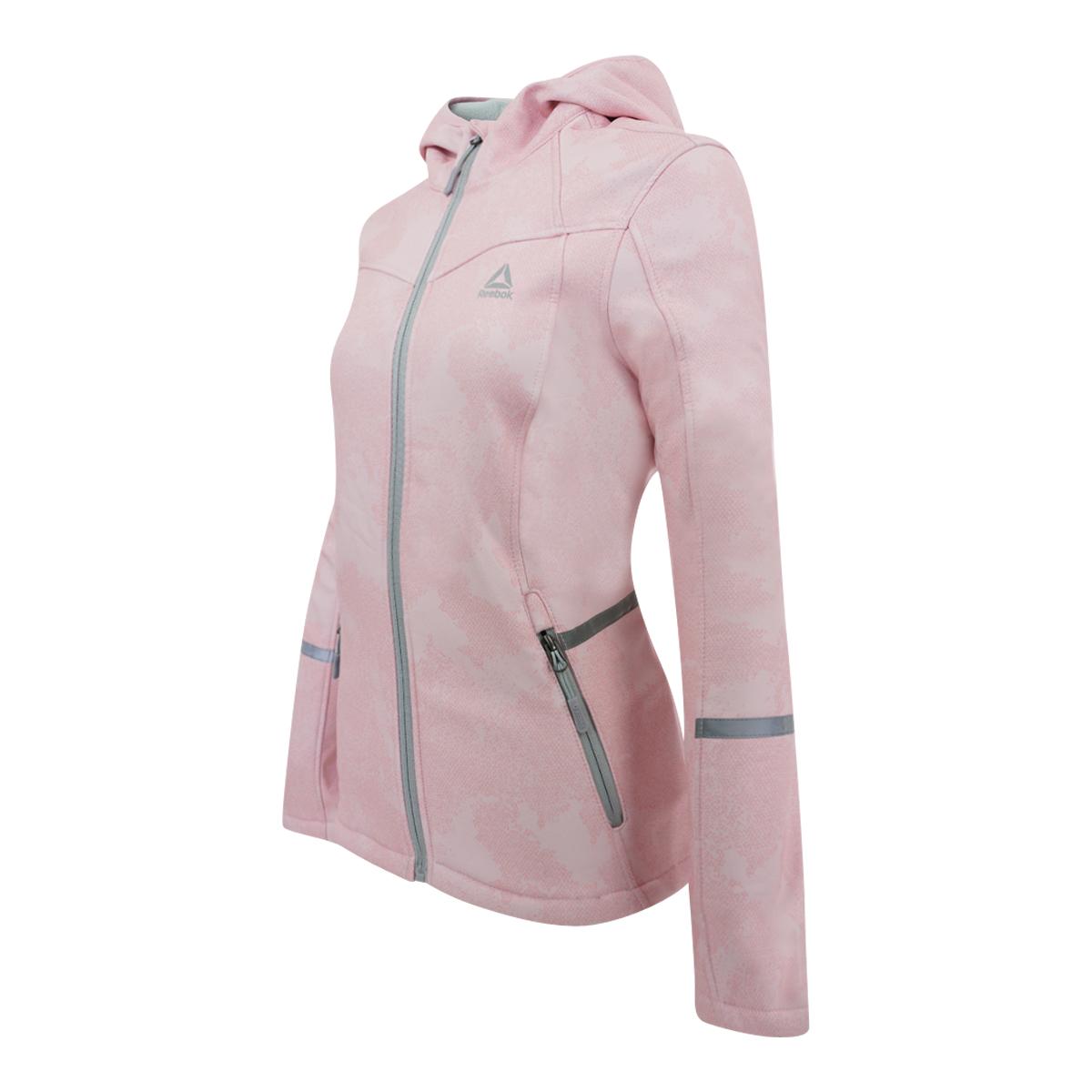 Reebok-Women-039-s-Softshell-Hooded-Jacket thumbnail 7