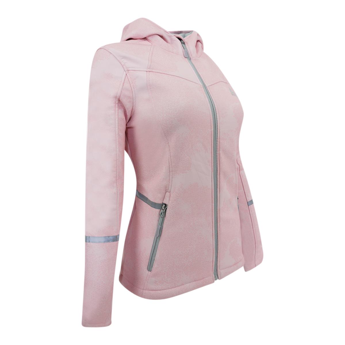 Reebok-Women-039-s-Softshell-Hooded-Jacket thumbnail 8