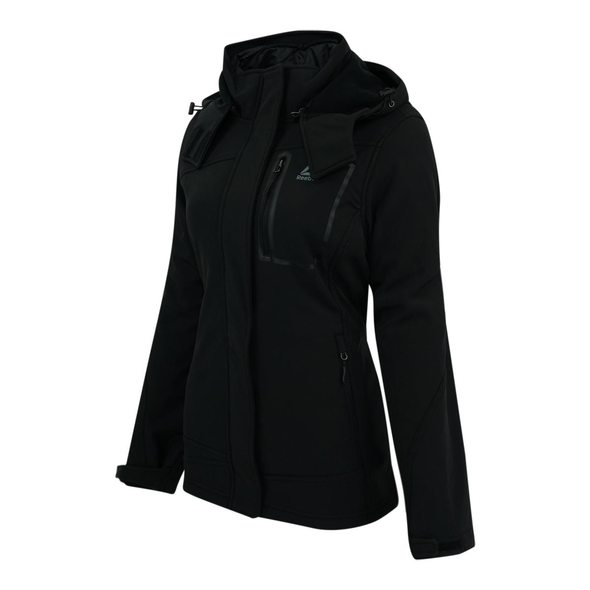 Reebok-Women-039-s-Softshell-System-Jacket thumbnail 8
