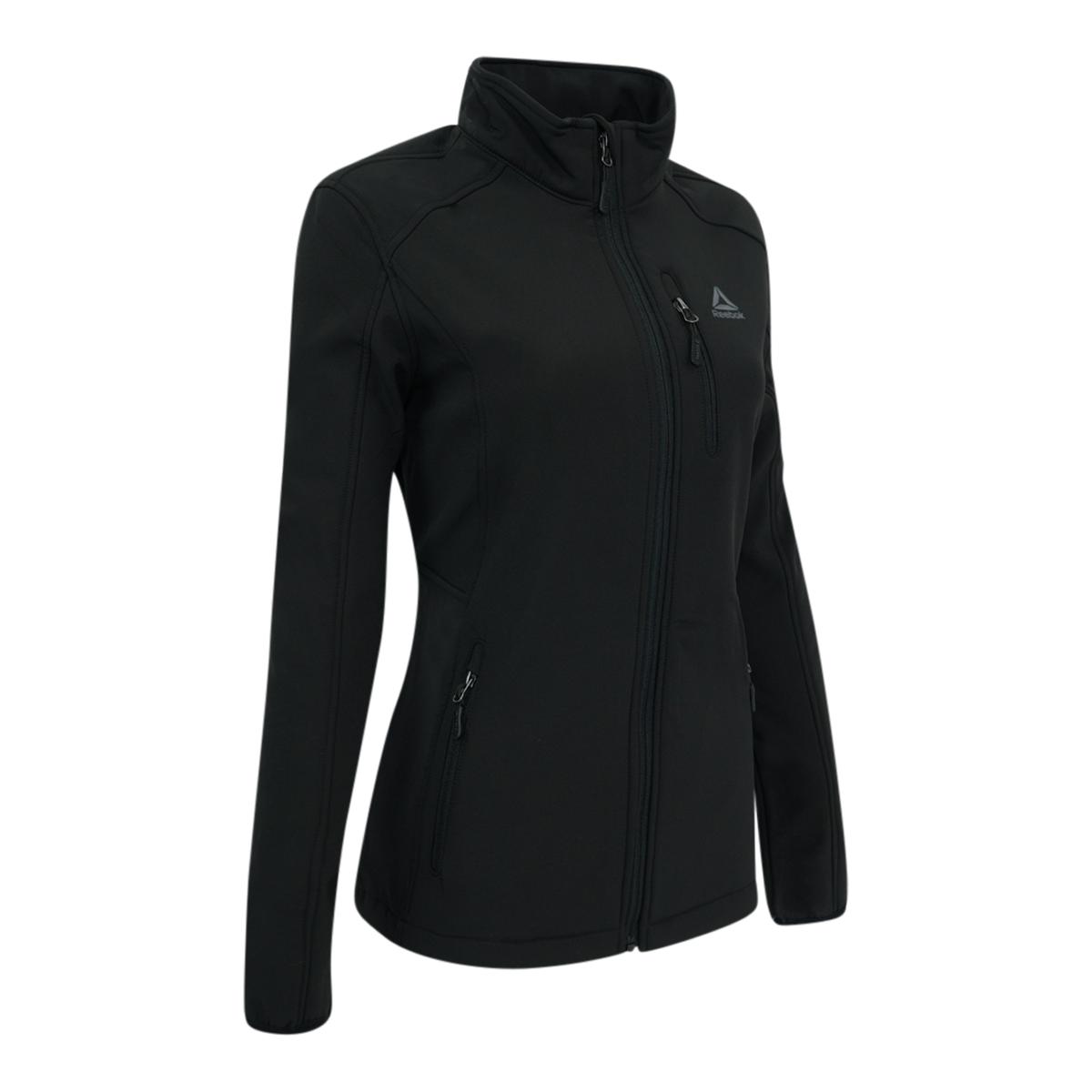 Reebok-Women-039-s-Full-Zip-Softshell-Jacket thumbnail 6