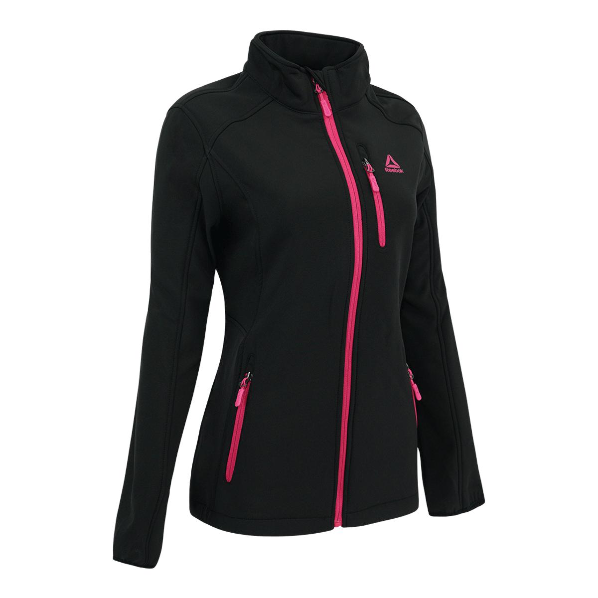 Reebok-Women-039-s-Full-Zip-Softshell-Jacket thumbnail 10