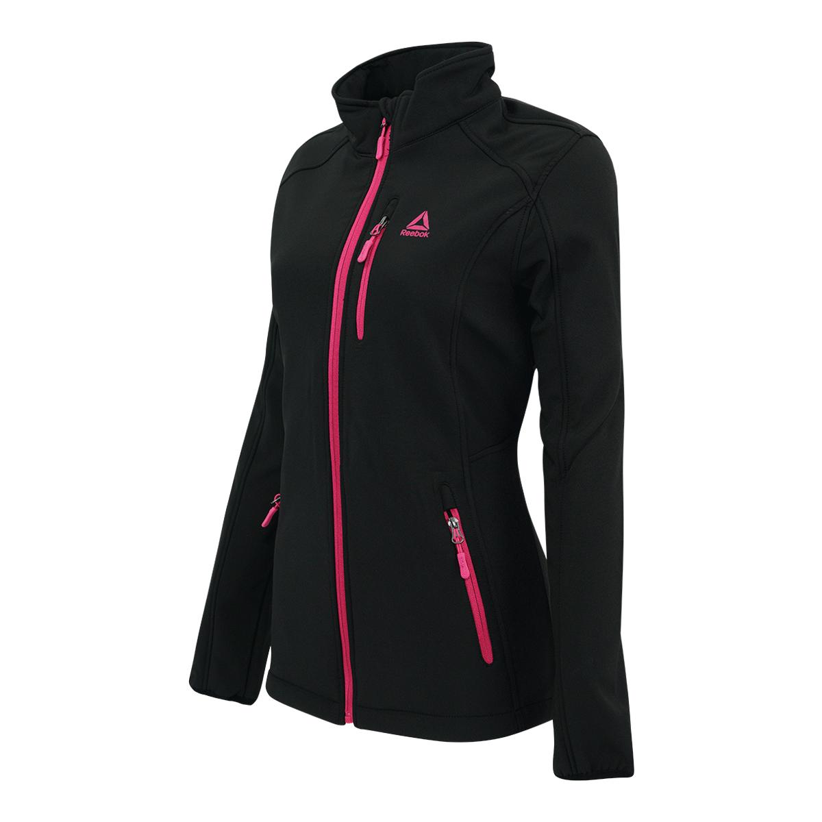 Reebok-Women-039-s-Full-Zip-Softshell-Jacket thumbnail 11