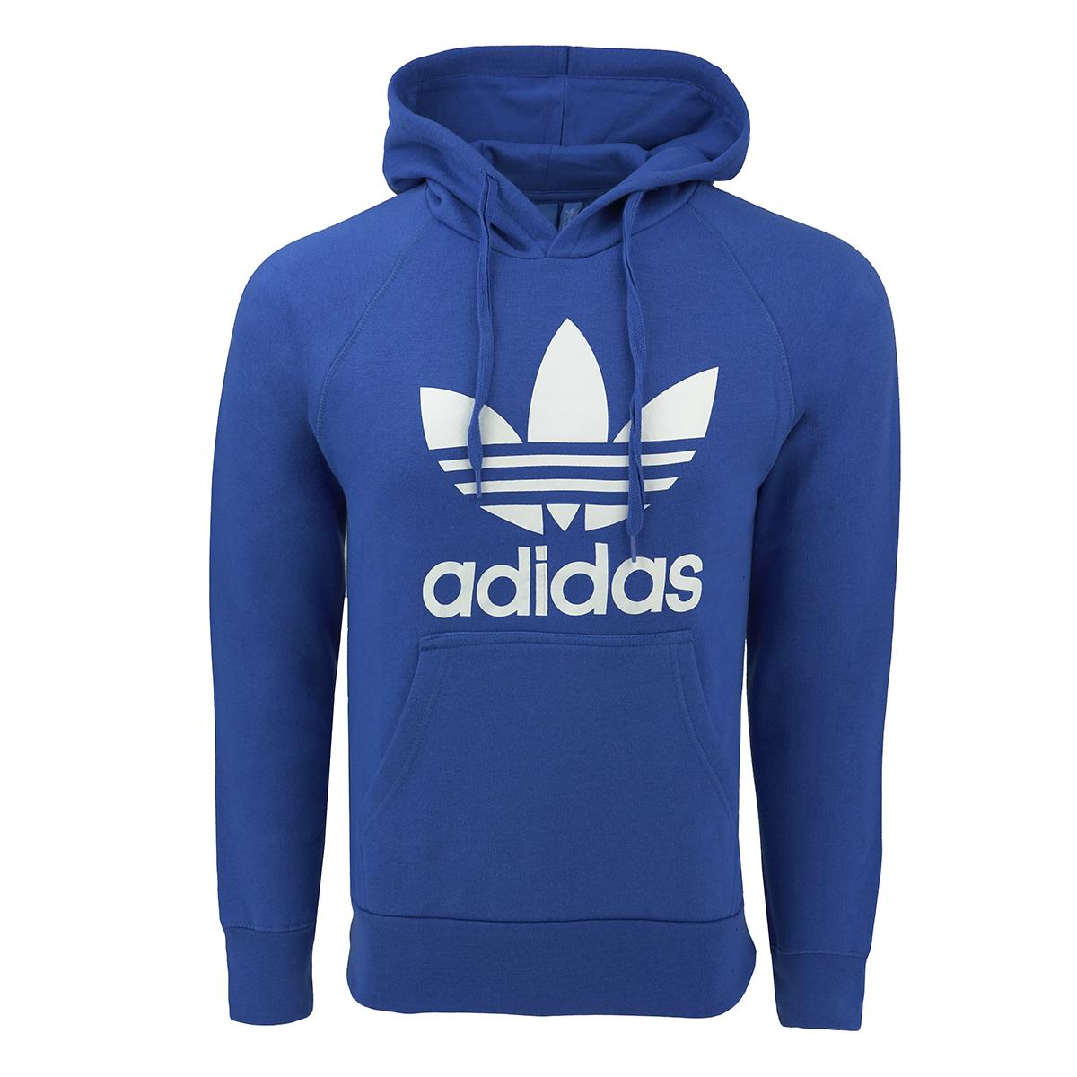 Adidas Men's Originals Trefoil Hooded Sweatshirt by Adidas
