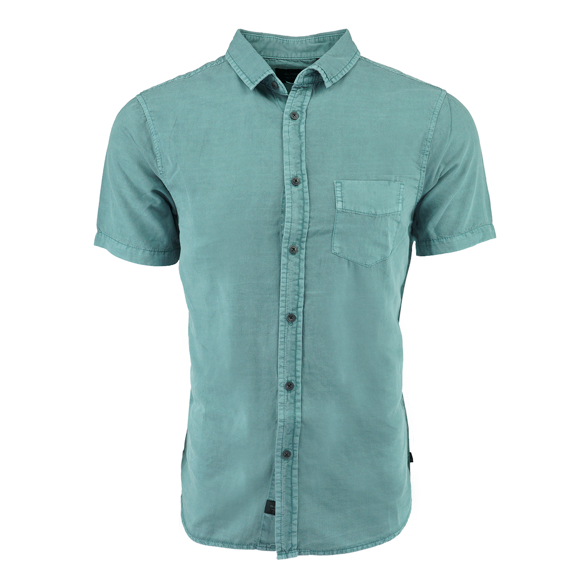 ce57a5e3a61 Details about Globe Men s Goodstock Vintage S S Shirt Breeze Green L