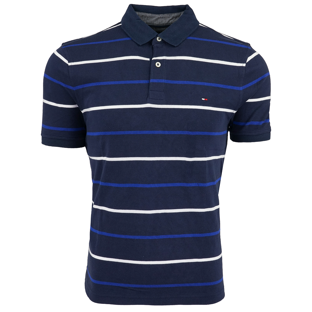 Tommy-Hilfiger-Men-039-s-Striped-Polo