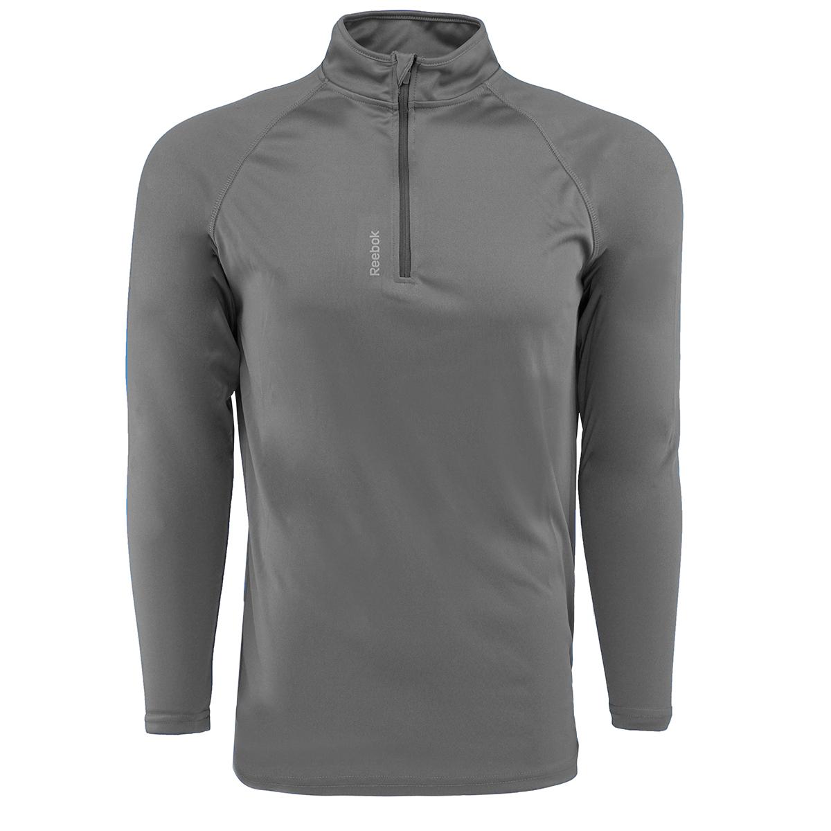 Reebok-Men-039-s-Play-Dry-1-4-Zip-Jacket