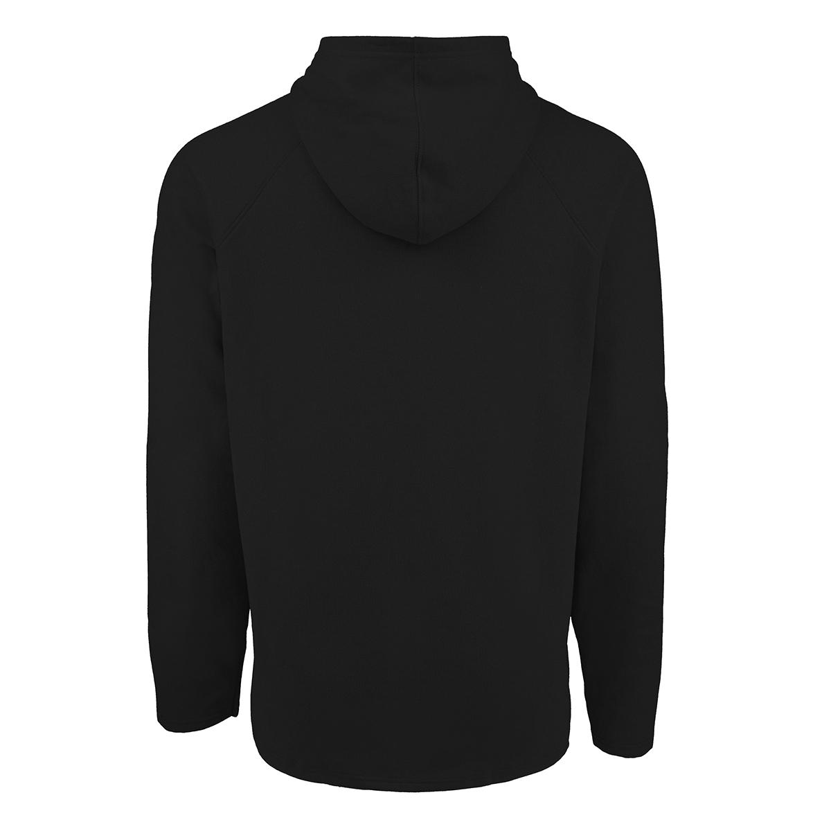 adidas-Men-039-s-Solid-Blackbird-Hooded-Sweatshirt thumbnail 5