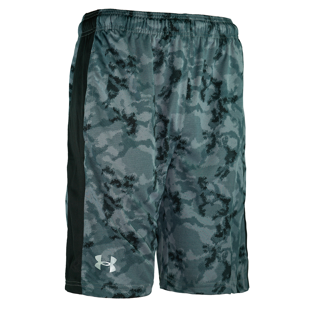 Under Armour Men/'s Woven Graphic Shorts Blue Splatter XL