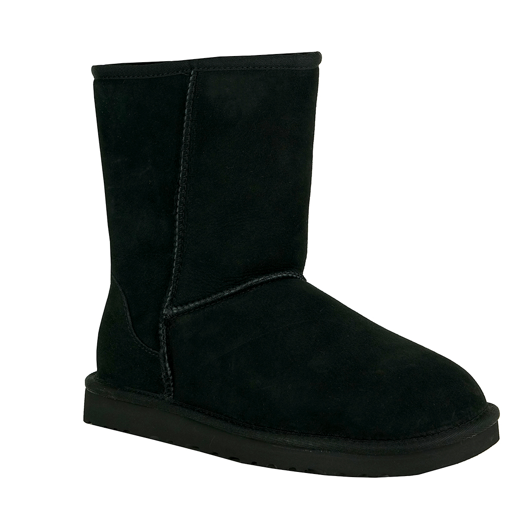 UGG Australia Women's Classic Short Sheepskin Boot Black,7 M US. About this product. Picture 1 of 2; Picture 2 of 2