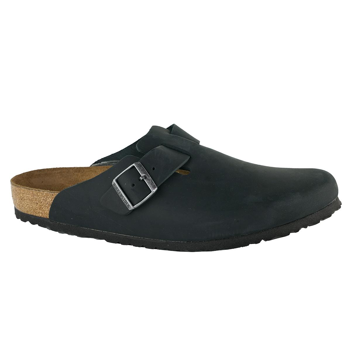 42abeabb16da Birkenstock Boston Oiled leather Clogs Black 35 809410997326