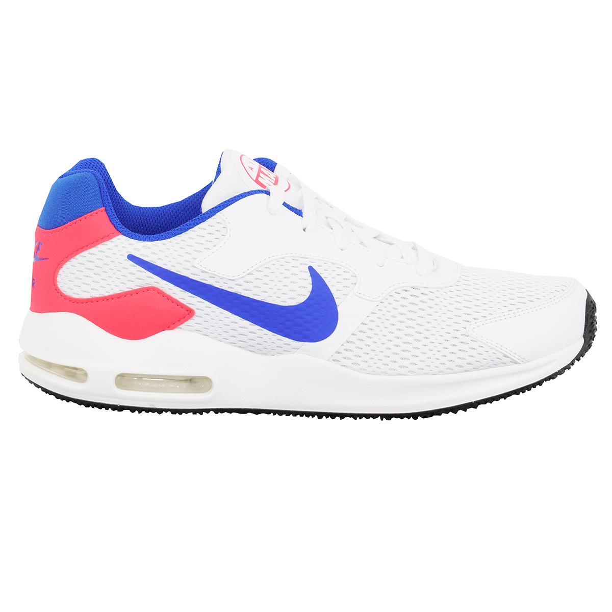947ef785e8b2d Details about Nike Men's Air Max Guile Running Shoes  White/Ultramarine/Solar Red 8.5