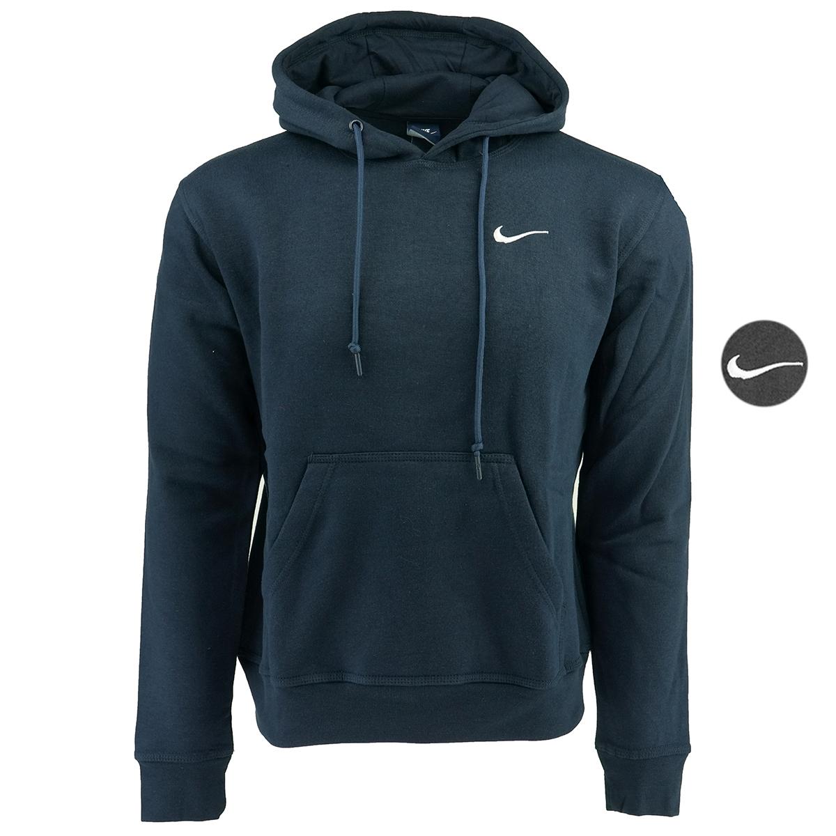 225a005662c0 Nike Men s Fundamental Fleece Hoodie Black White S