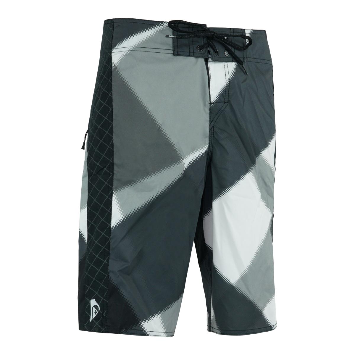 Quiksilver-Men-039-s-Geometric-Print-Boardshorts thumbnail 3