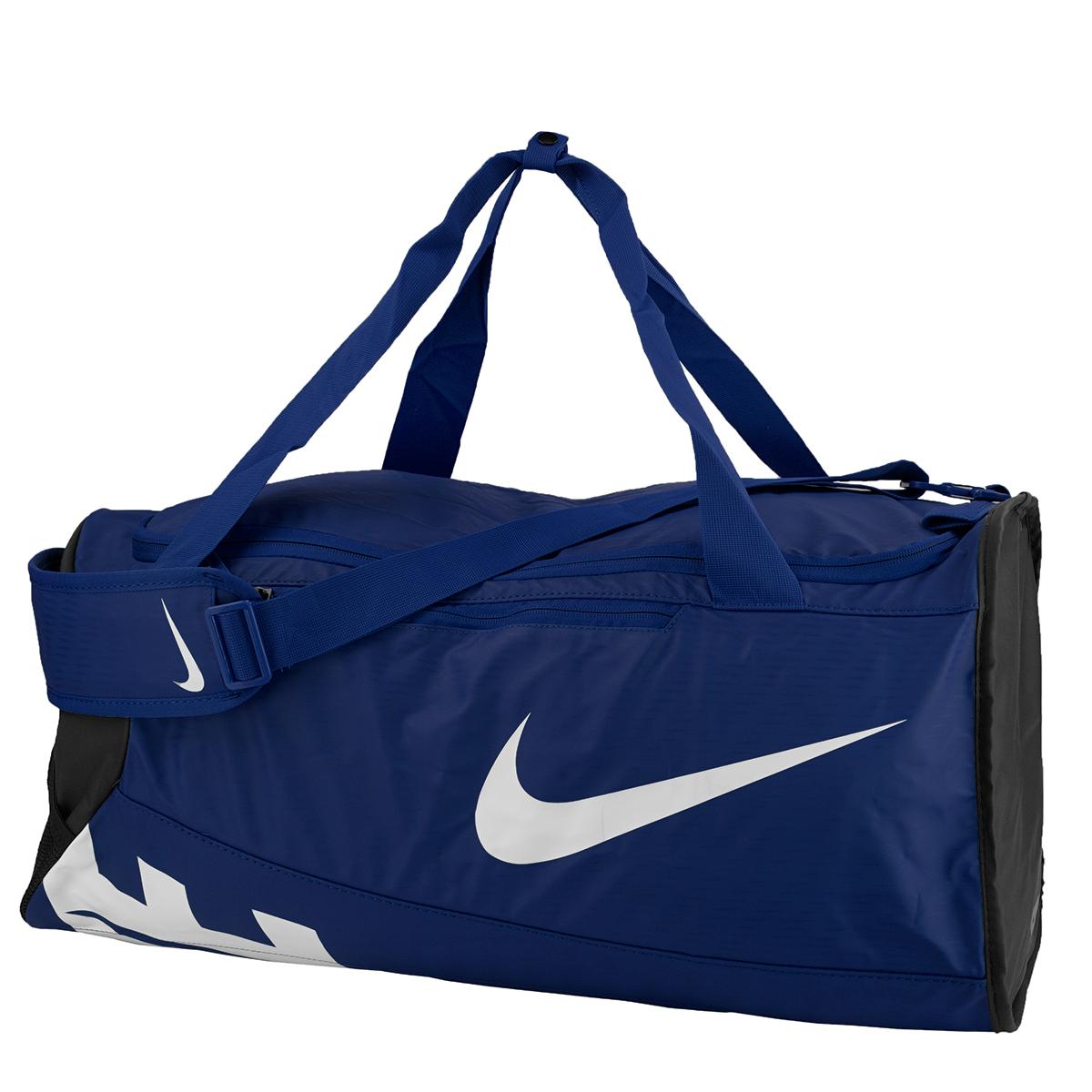 Nike Alpha Adapt Crossbody Medium Duffel Bag Midnight Navy Black White c21102514541a