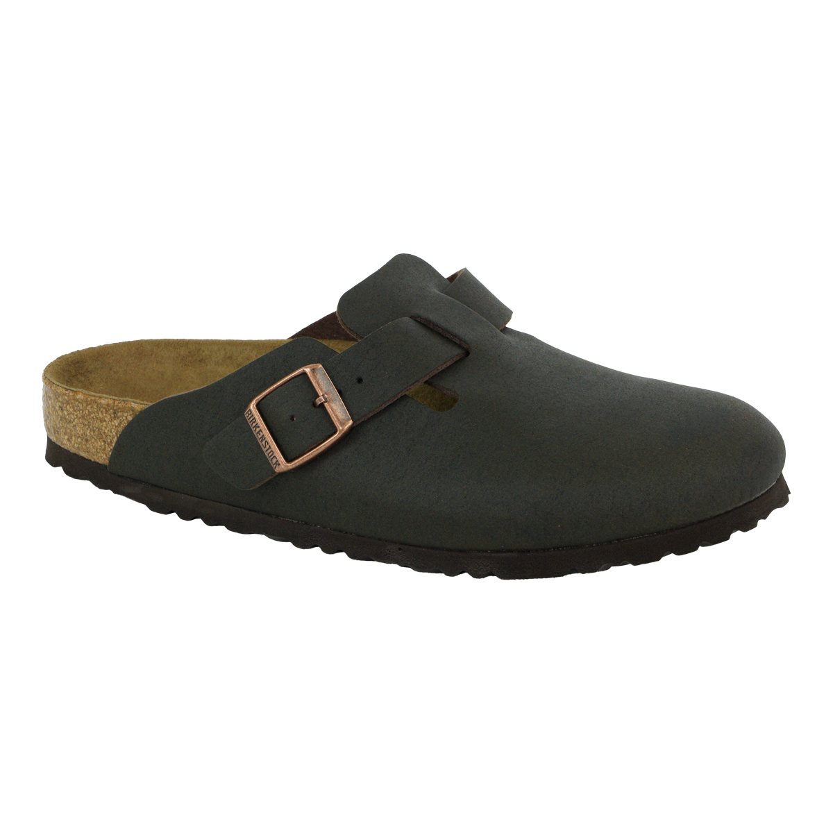 Details about Birkenstock Boston Shoes Micro Fibre Cocoa Brown 46 N