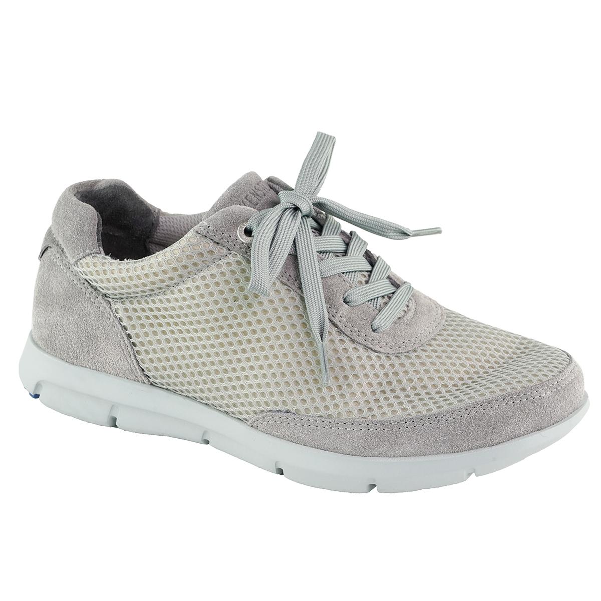 1874b9eb386e Birkenstock Women s Manitoba Suede Leather Textile Shoes Grey 37 ...