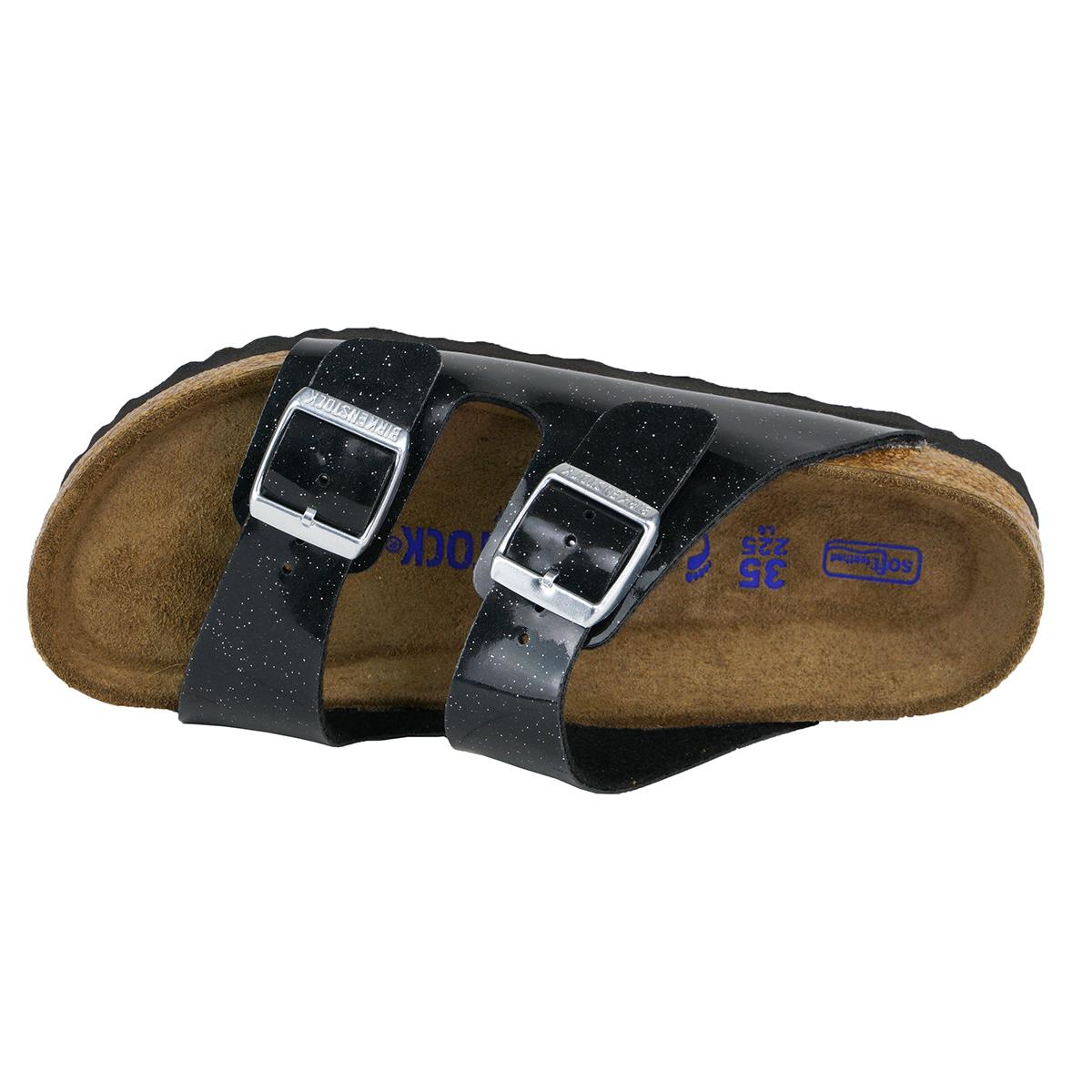 09e532f1bad0 Birkenstock Arizona Soft Footbed Birko-Flor Sandals Magic Galaxy Black 35